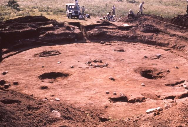 大型竪穴建物跡